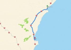 38 km