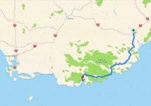 93 km