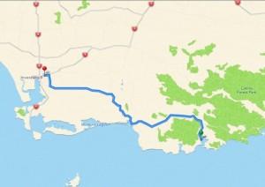 83 km